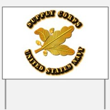 Navy - Supply Corps Yard Sign