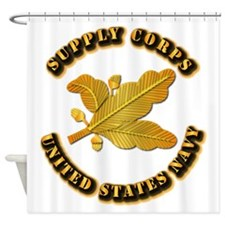 Navy - Supply Corps Shower Curtain