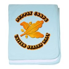Navy - Supply Corps baby blanket