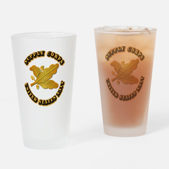 Navy - Supply Corps Drinking Glass