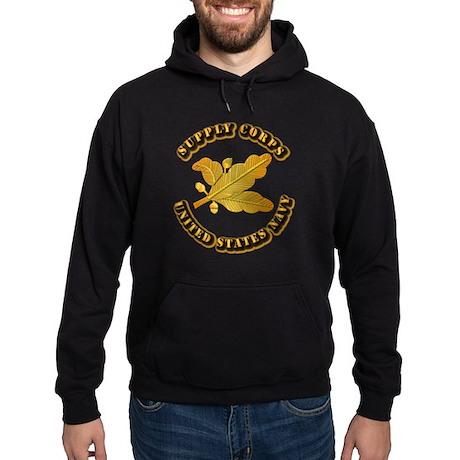Navy - Supply Corps Hoodie (dark)