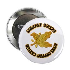 """Navy - Supply Corps 2.25"""" Button"""