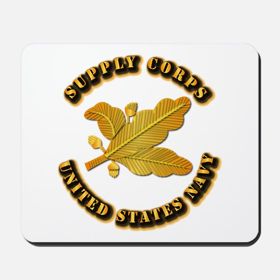 Navy - Supply Corps Mousepad