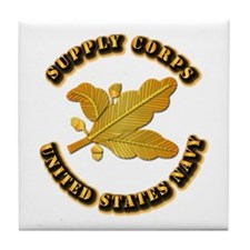 Navy - Supply Corps Tile Coaster