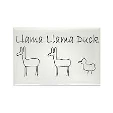 Llama llama duck MAGNET