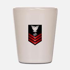 Navy Electronics Technician First Class Shot Glass