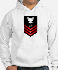 Navy Electronics Technician First Class Hoodie