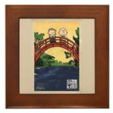 Snoopy peanuts Framed Tiles