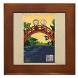 Charlie brown peanuts Framed Tiles