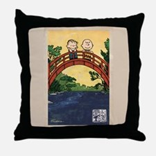 Serenity Stream Throw Pillow