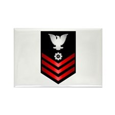 Navy Engineman First Class Rectangle Magnet