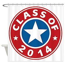 Class Of 2014 USA Shower Curtain