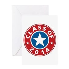Class Of 2014 USA Greeting Card