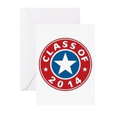Class Of 2014 USA Greeting Cards (Pk of 10)