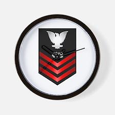 Navy Equipment Operator First Class Wall Clock