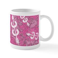 PINK Grunge Cross Country Running Mug