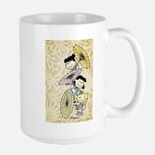 Umbrella Girls Large Mug