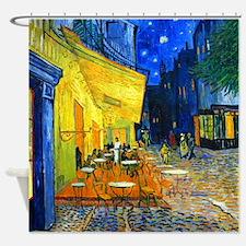 Van Gogh - Cafe Terrace Shower Curtain