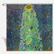 Klimt - The Sunflower Shower Curtain