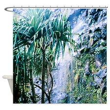 Kalalau Trail Waterfall Shower Curtain