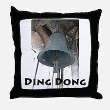 Ding Dong Throw Pillow