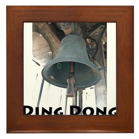 Ding Dong Framed Tile