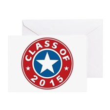 Class Of 2015 USA Greeting Card