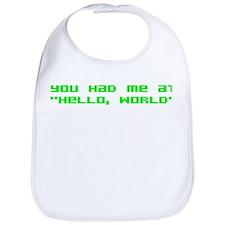 Hello World Bib
