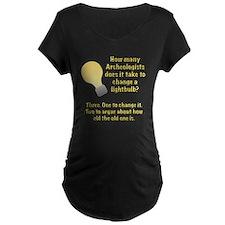 Archeologist lightbulb joke T-Shirt