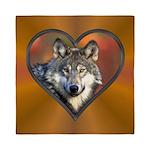 Wolf Heart Queen Duvet