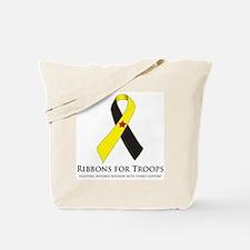 PTSD & TBI Awareness Ribbons Tote Bag
