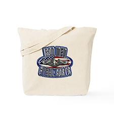US Navy Submarine Service Iron Men Tote Bag