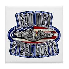 US Navy Submarine Service Iron Men Tile Coaster