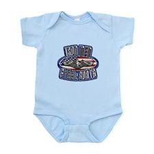 US Navy Submarine Service Iron Men Infant Bodysuit