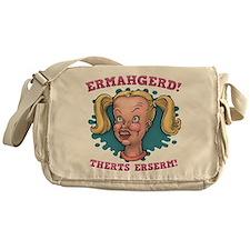 Ermahgerd! Therts Erserm! Messenger Bag