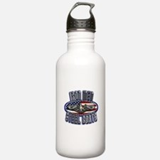 US Navy Submarine Service Steel Boats Water Bottle