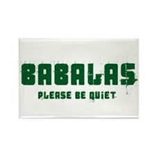 Babalas Rectangle Magnet (10 pack)