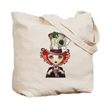 Alice in Wonderland Tote Bag - LOOK BACK!
