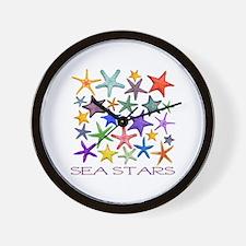 Sea Stars Wall Clock