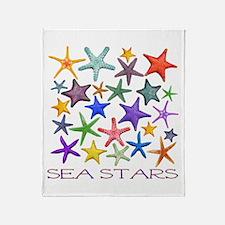 Sea Stars Throw Blanket