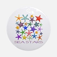 Sea Stars Ornament (Round)