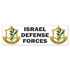 IDF - Israel Defense Forces Bumper Bumper Sticker