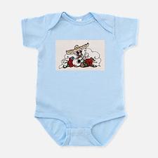 colorful death Infant Bodysuit