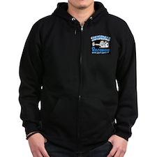 Irwindale Raceway Black Zip Hoodie