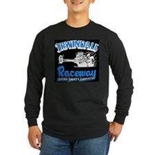 Irwindale Raceway Long Sleeve Black T-Shirt