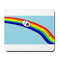 Sliding down a Rainbow Mousepad