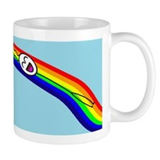 Sliding down a Rainbow Mug