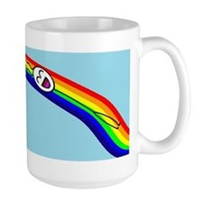 Sliding down a Rainbow Mug