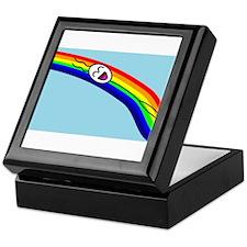 Sliding down a Rainbow Keepsake Box