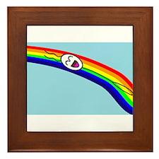 Sliding down a Rainbow Framed Tile